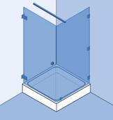 Mijnglaswinkel, douchedeuren - Vermeulen Glaswerken